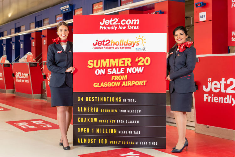 Jet2 adds new Spanish and Polish routes at Glasgow