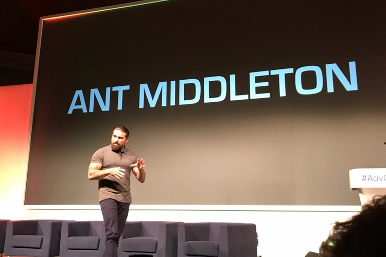 Ant Middleton plotting space adventure with Virgin Galactic