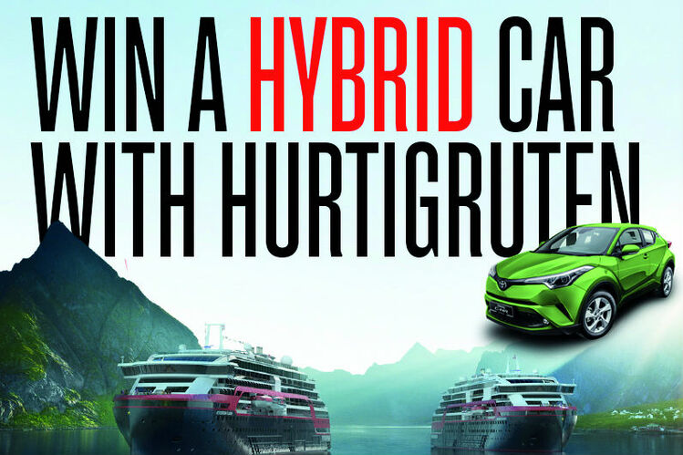 Hurtigruten launches agent incentive to win a hybrid car