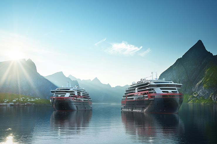 Win a hybrid car with Hurtigruten