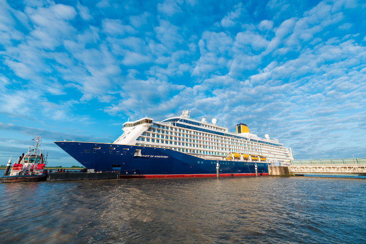 Saga's Spirit of Discovery takes to the sea