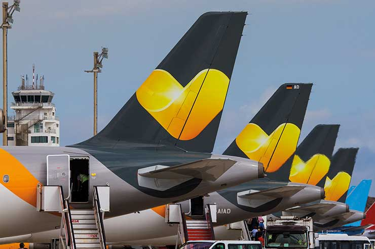 The Thomas Cook repatriation is twice the size of that of Monarch, which triggered Bucks' review