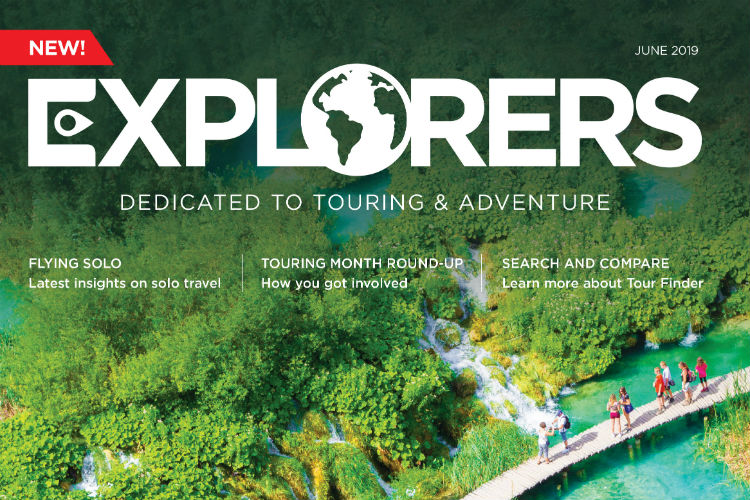Advantage launches touring and adventure magazine Explorers