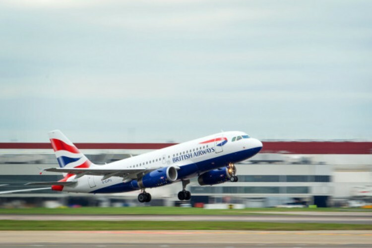 British Airways to carbon offset all UK flights