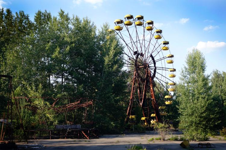Guided Chernobyl tours are among Explore's options