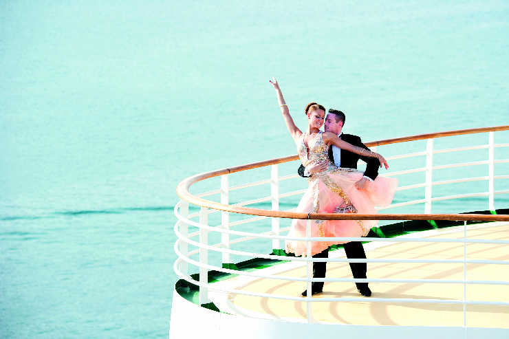 Mastering moves on P&O Britannia's Strictly-themed cruise