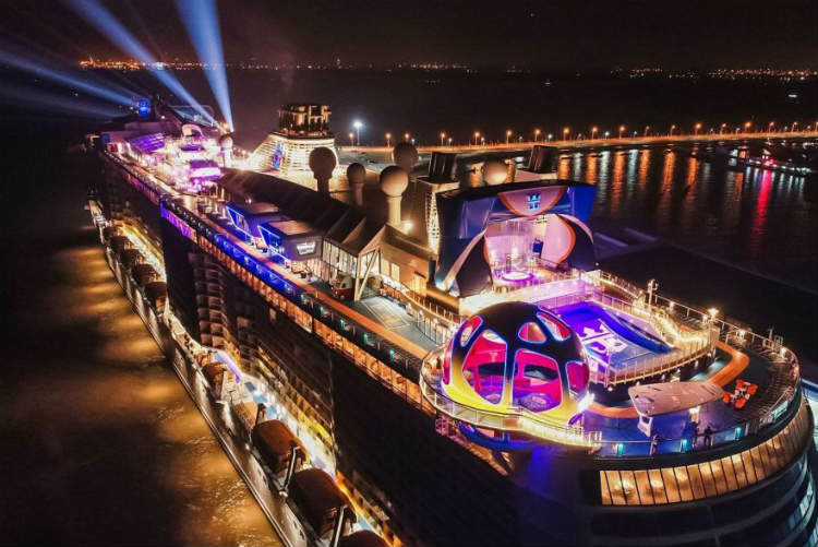 Spectrum of the Seas named in Shanghai ceremony