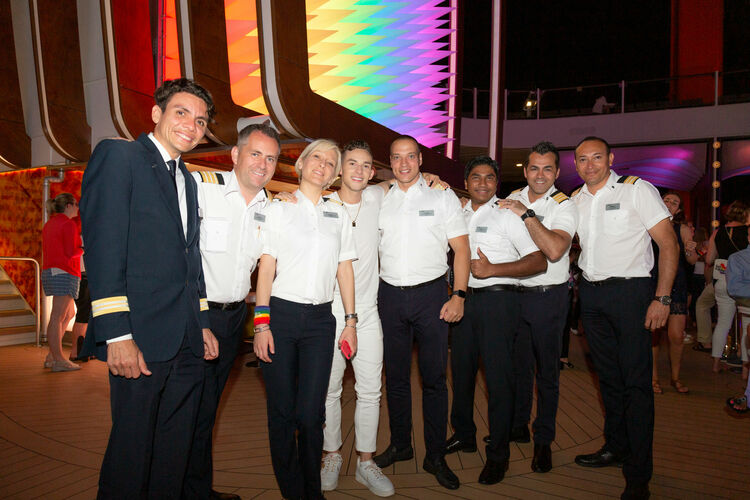Celebrity hosts third Pride Party at Sea