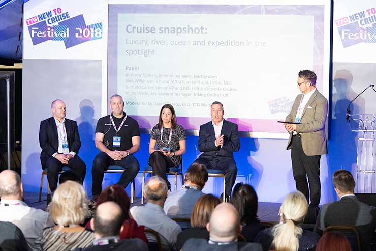 Conference sessions New to Cruise 2019