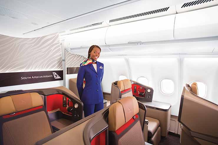 Win a pair of South African Airways flights
