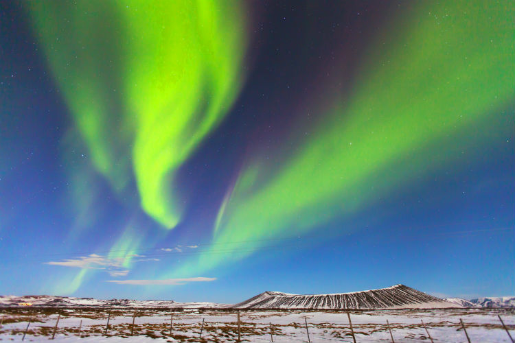 Jet2's trips will offer opportunities to see the northern lights