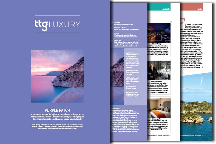 TTG Luxury cover