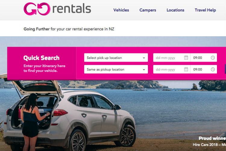 GO Rentals New Zealand appoints Colombo as BDM