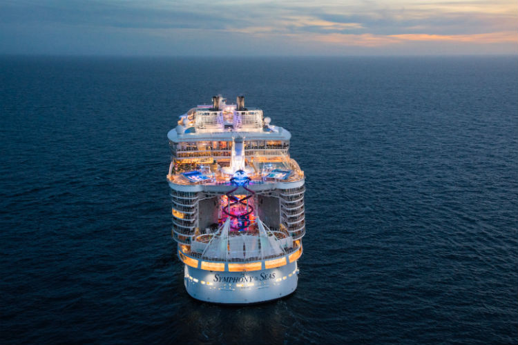 TV series featuring world's largest cruise ship begins