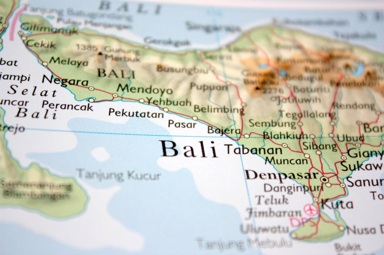 Bali's governor has taken the decision to ban international visitors
