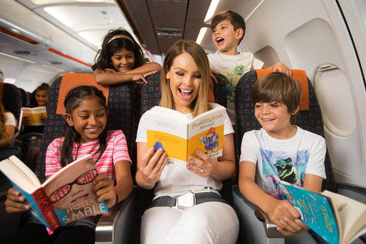 EasyJet to introduce 300 children's 'flybraries' across European fleet