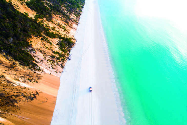 Relaxing nature breaks on Fraser Island