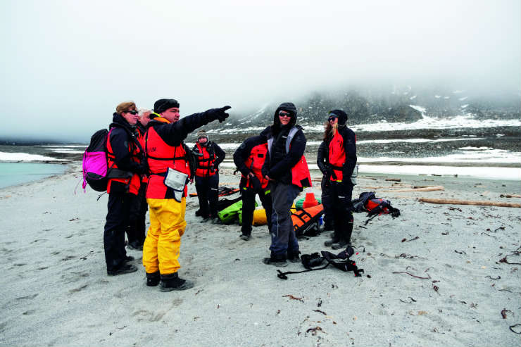 Hurtigruten on its sustainability initiatives