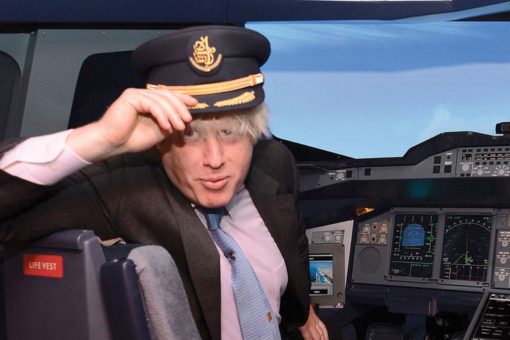 Sophie Griffiths: Boris Johnson plays Santa Claus for travel