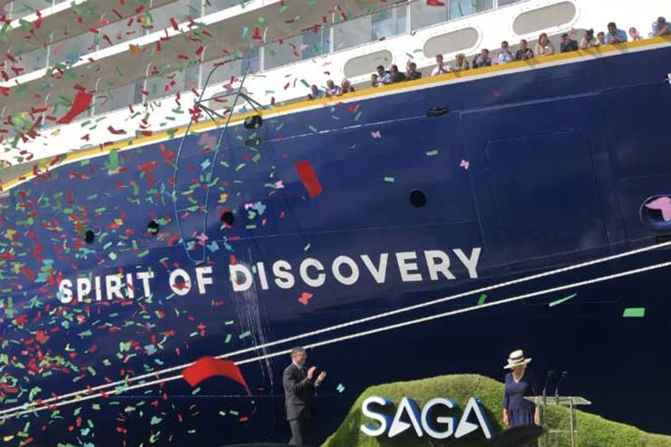 Saga buoyed by 'resilient' cruise bookings as tour op struggles