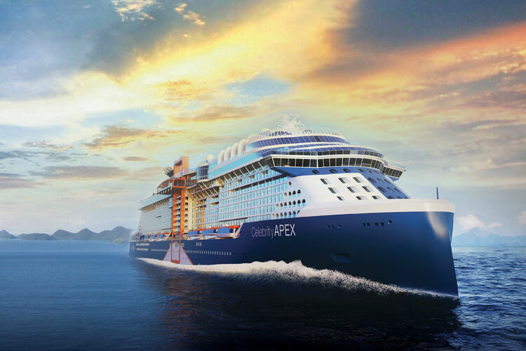 Celebrity Apex will sail the Caribbean next winter