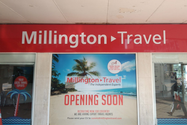 Millington Travel to open new Coventry store