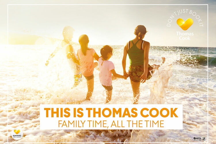Thomas Cook rolls out summer ad campaign