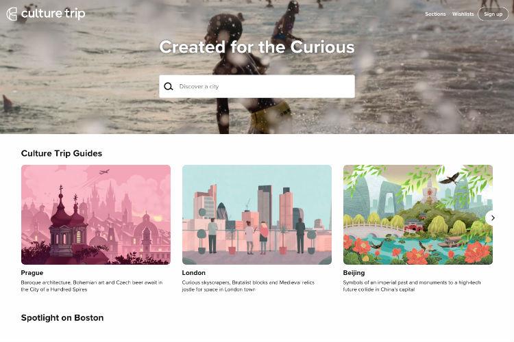 Culture Trip debuts online booking platform