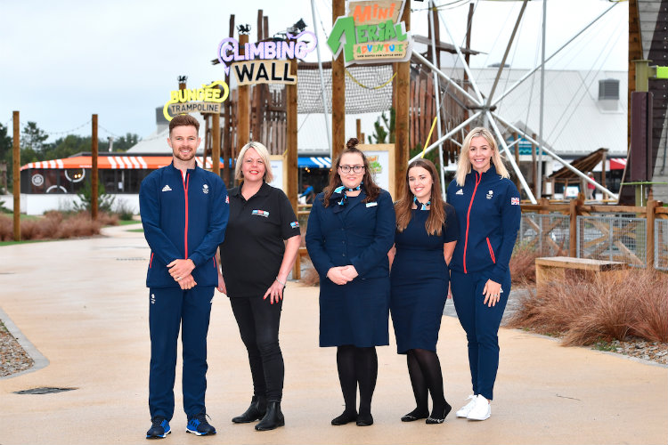 Olympians help Haven open £13.5m Welsh holiday park development