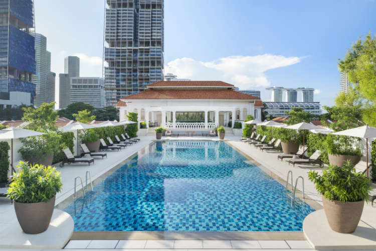 Raffles Singapore Swimming Pool
