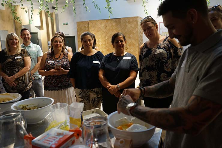 Malta Tourism Authority shares video of agent cookery class