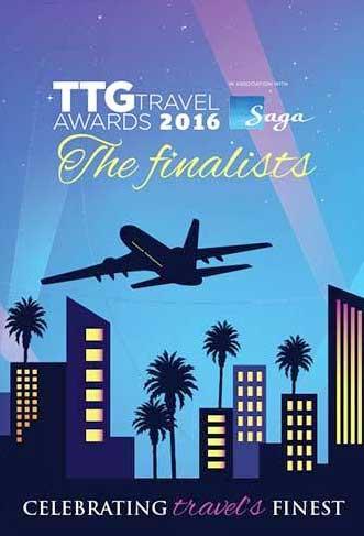 TTG Travel Awards 2016 - The Finalists