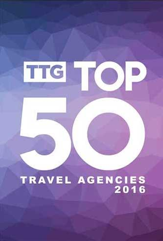 The definitive TTG Top 50 Travel Agencies of 2016