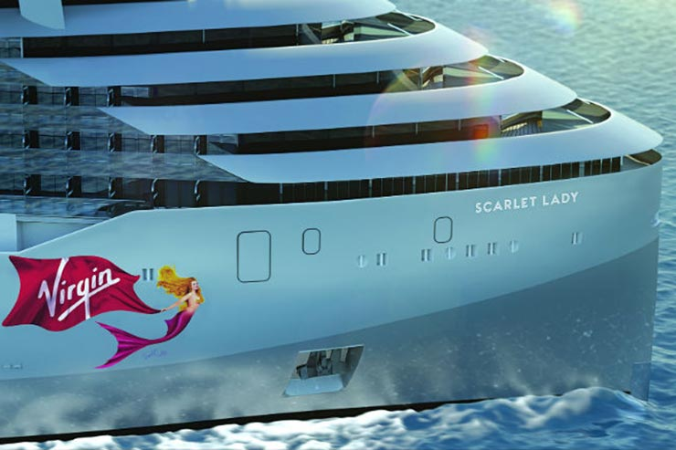Virgin Voyages' Scarlet Lady will be launched in 2020