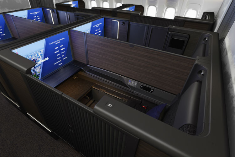 ANA unveils new business and first class seats