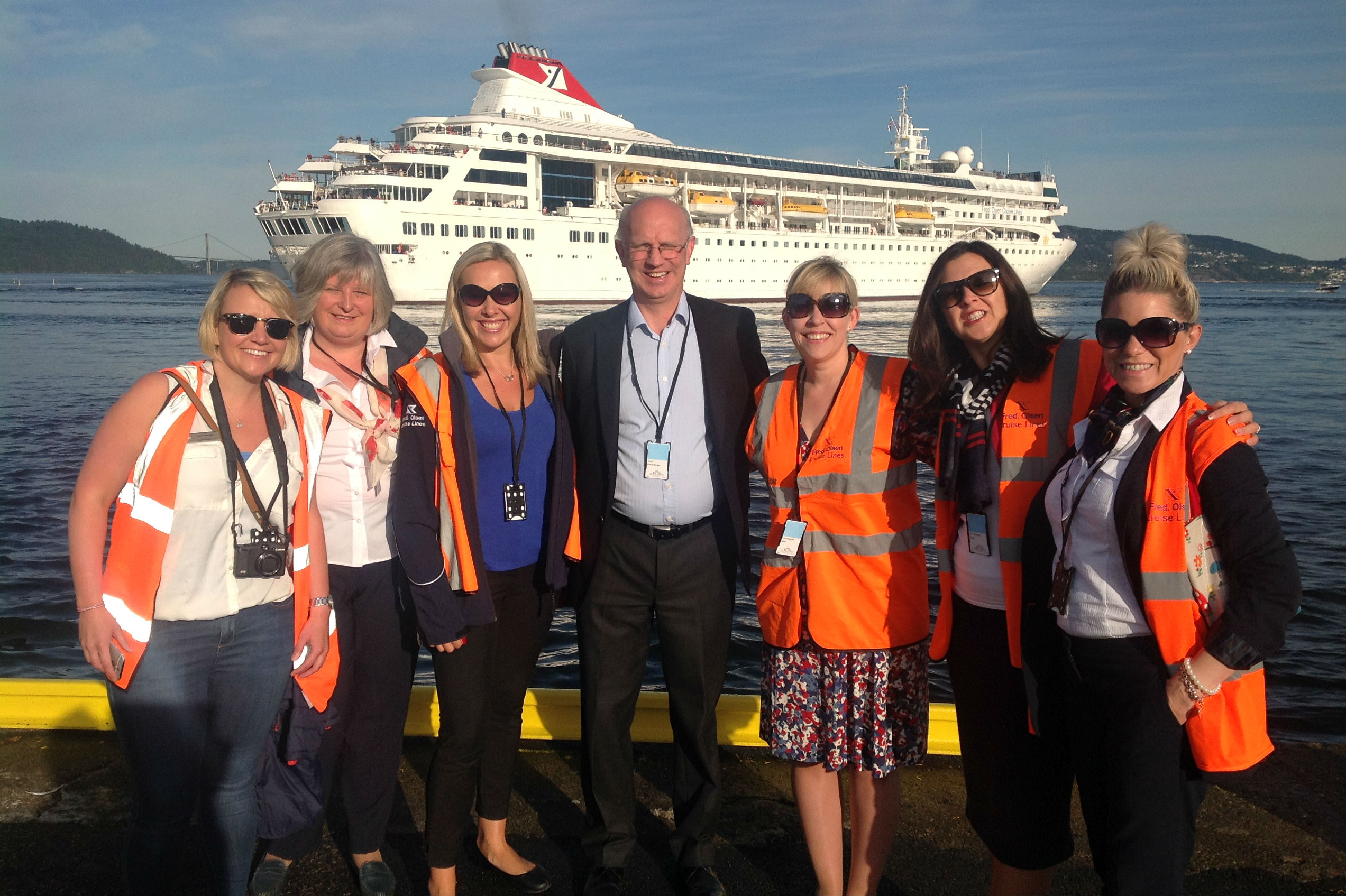 'I'm sure I'll keep an eye on the cruise industry'
