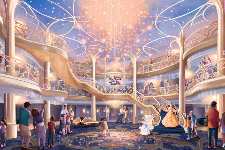 Disney reveals details of new ship and parks experiences
