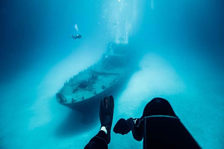 3. Dive sites are in abundance