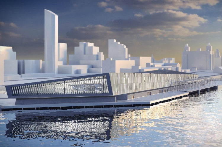 Liverpool Cruise Terminal artists impression