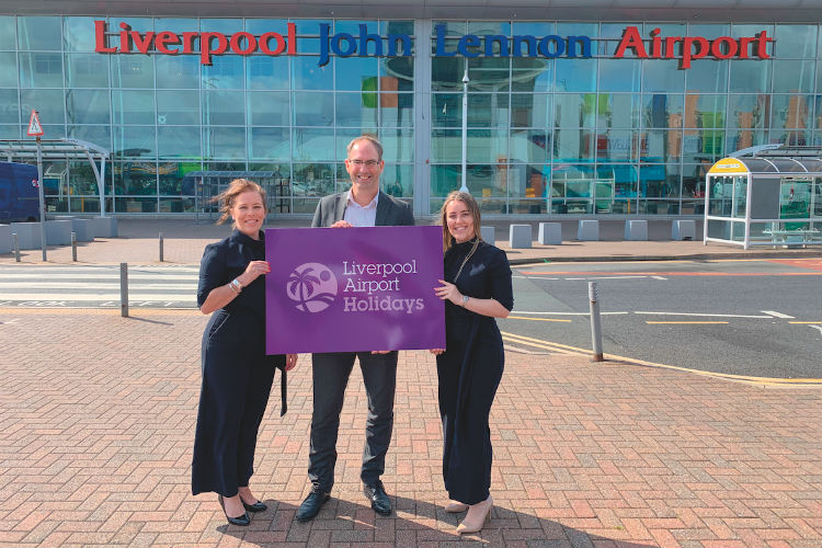 Myriad Travel partners on Liverpool Airport Holidays launch