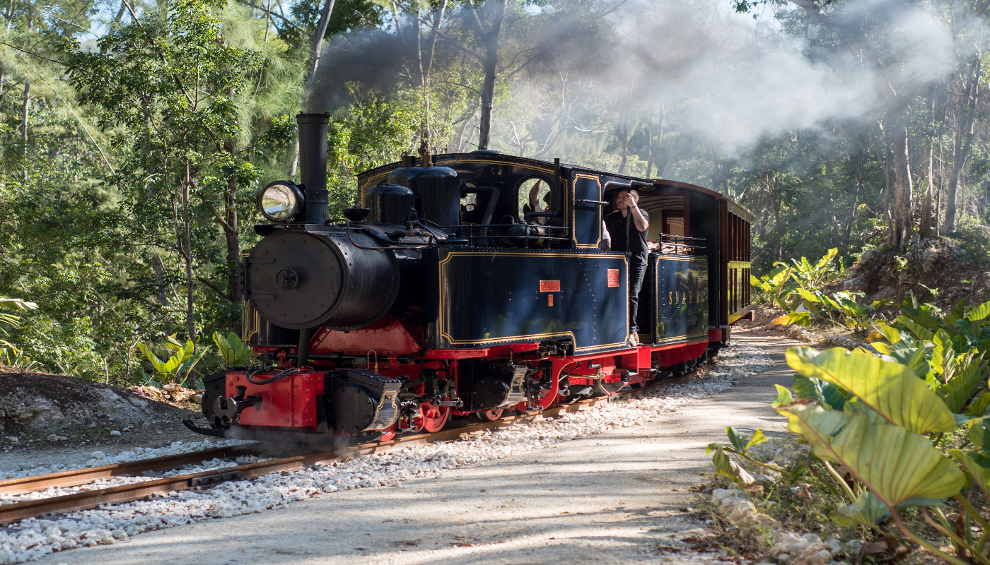 Ride a vintage railway in Barbados