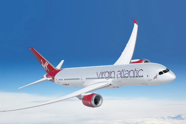 Virgin will use a Boeing 787 aircraft to operate the routes