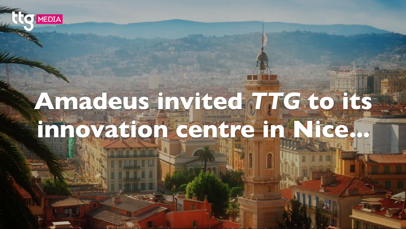Watch: TTG joins Amadeus in Nice