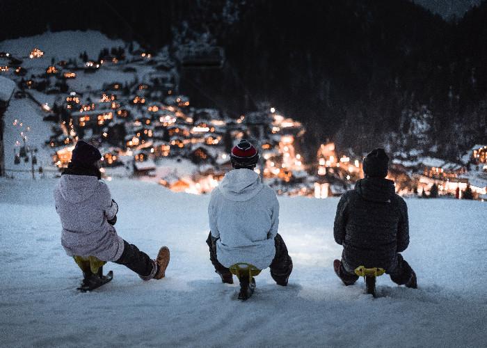 Hitting the slopes