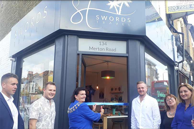 Swords Travel debuts first high-street agency in Wimbledon