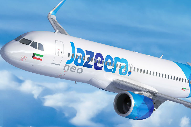 Win two Business Class tickets with Jazeera Airways