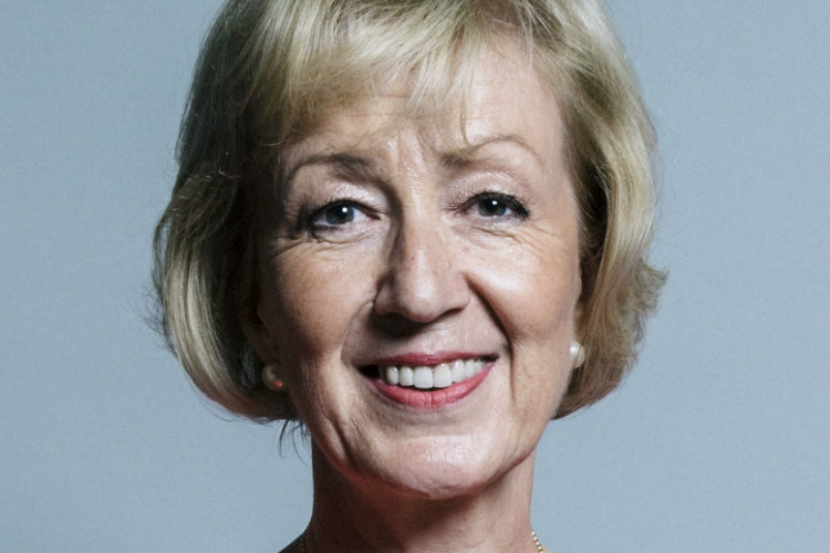 Andrea Leadsom says she has set up a Cook taskforce (image courtesy of Chris McAndrew/gov.uk)