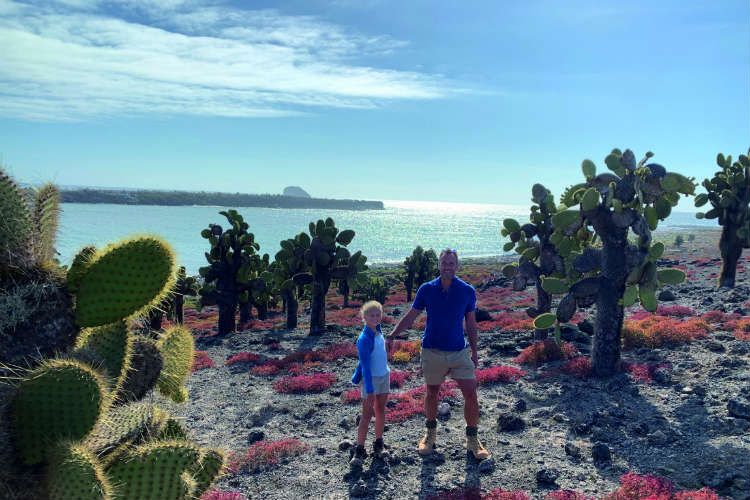 Ben Fogle on exploring the Galapagos Islands onboard Celebrity Flora