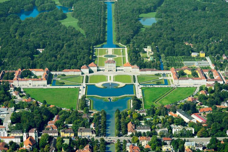 Nymphenburg Palace in Munich