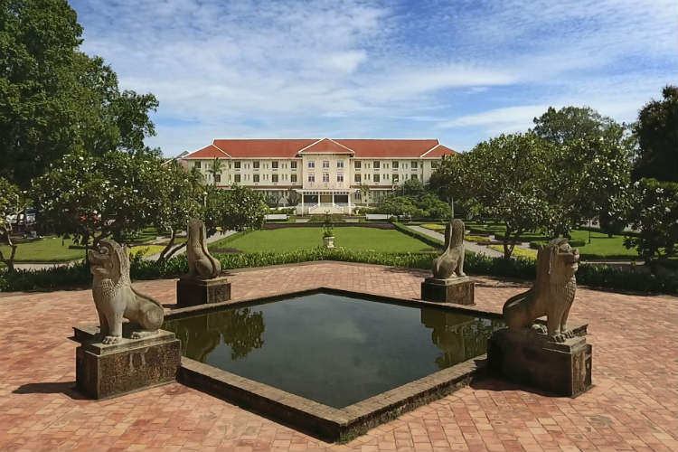 The refurbished Raffles Grand Hotel d'Angkor is due to reopen on 1 October
